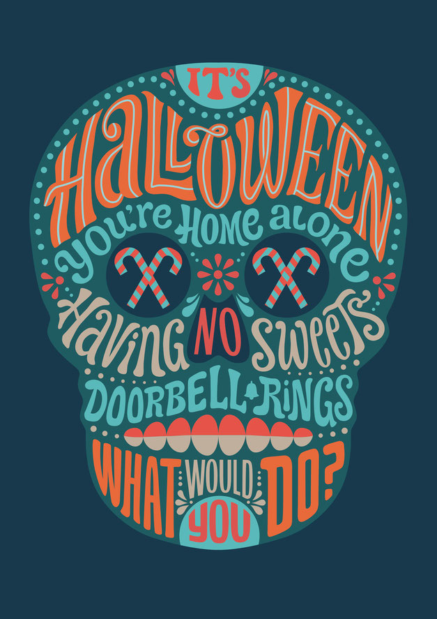 It's Halloween, www.juliakerschbaumer.com