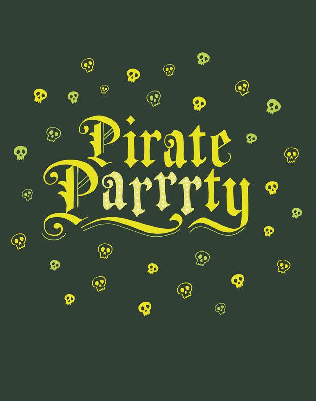 Pirate Parrrty, www.juliakerschbaumer.com
