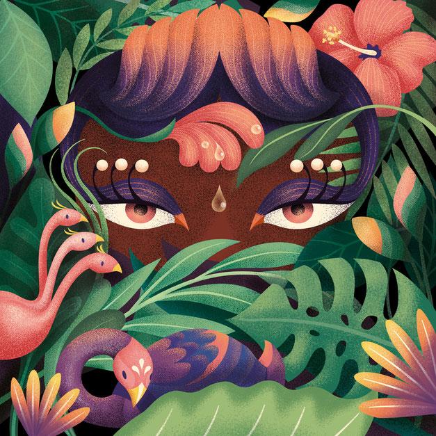 Jungle Eyes, www.juliakerschbaumer.com