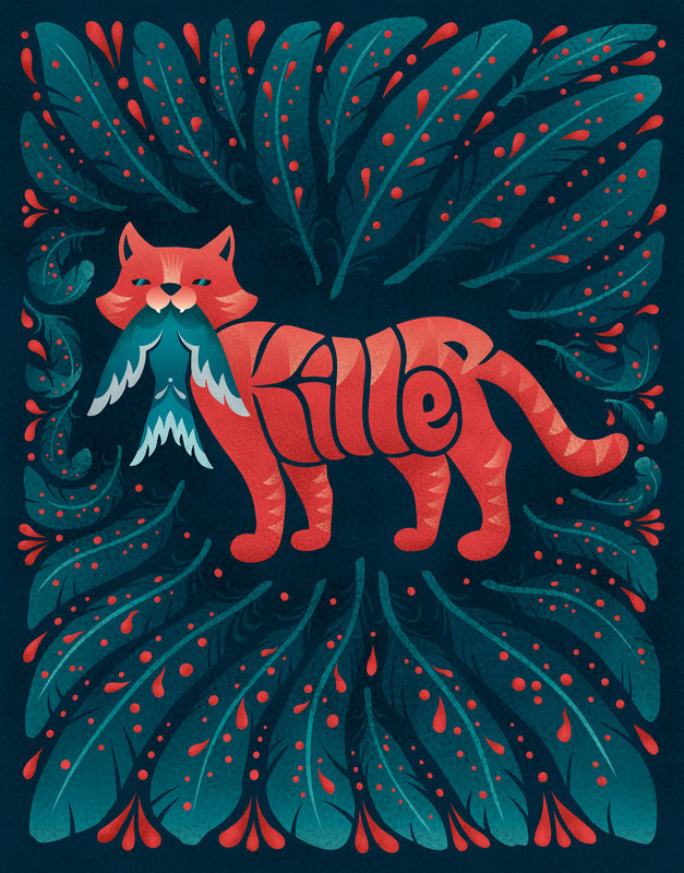 Killer Cat, www.juliakerschbaumer.com