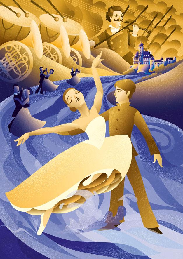 The Blue Danube, www.juliakerschbaumer.com