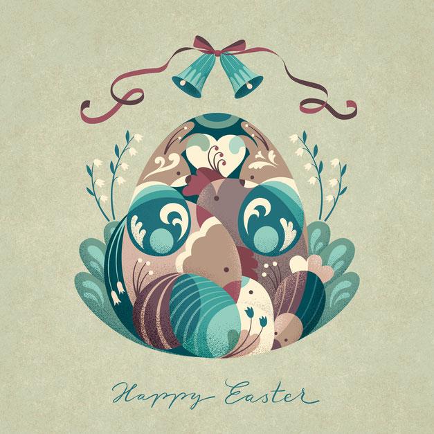 Happy Easter, www.juliakerschbaumer.com