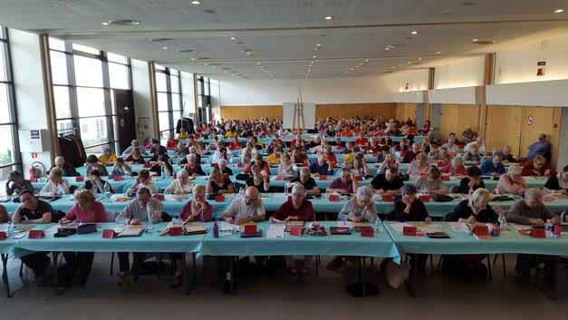 37 équipes engagées (environ 200 joueurs) à Gonfreville-l'Orcher