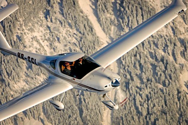 Diamond Eclipse, HB-SGL, Aviation School, Fluggruppe Mollis