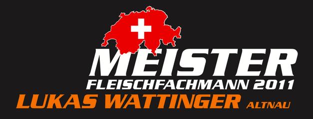 Schweizermeister Fleischfachmann 2011 - Lukas Wattinger