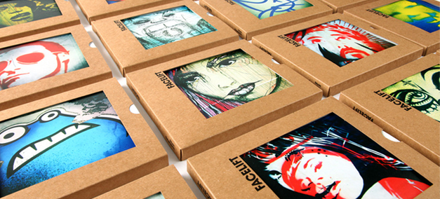 Facelift - Fotoporträts aus Streetartwerken Köln-Ehrenfelds