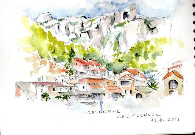 Calanque Callelongue