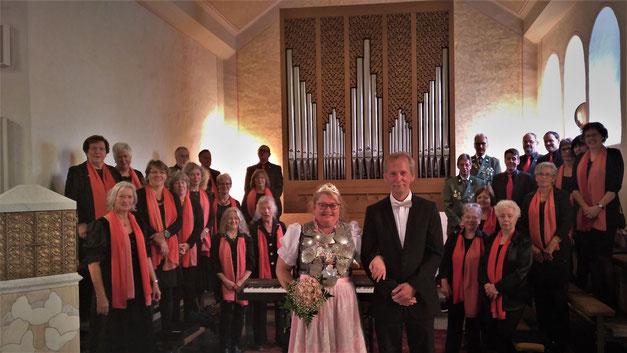 Vogelschuss 2019 Schützenkönigin Gottesdienst Kirchenchor