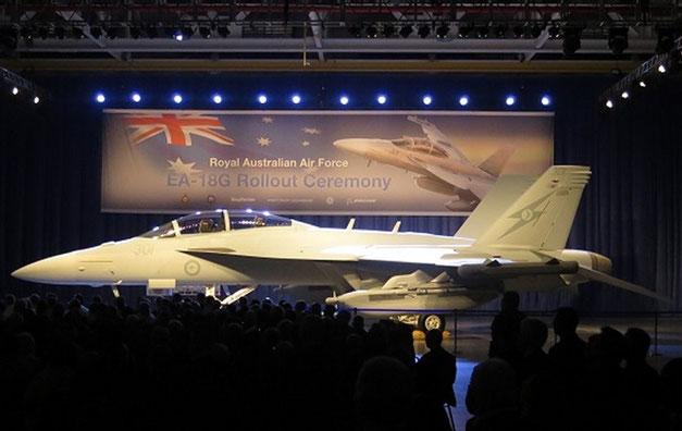La cerimonia di Rollout del Growler australiano / © Boeing
