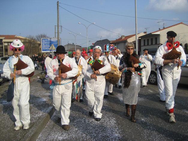 Groupe de rue du COMDT (31) carnaval de Colomier 2007