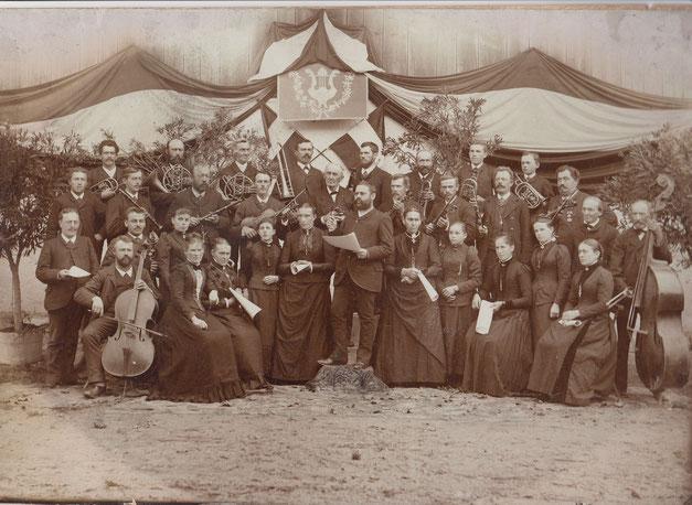Geschichte Aitrang Chor Bläser und Streicher aus Geschichte