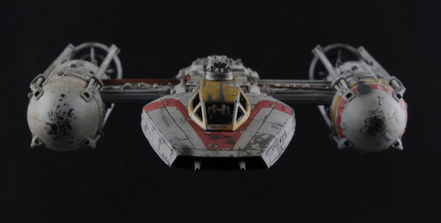 My model of the Red Jammer BTL Y Wing