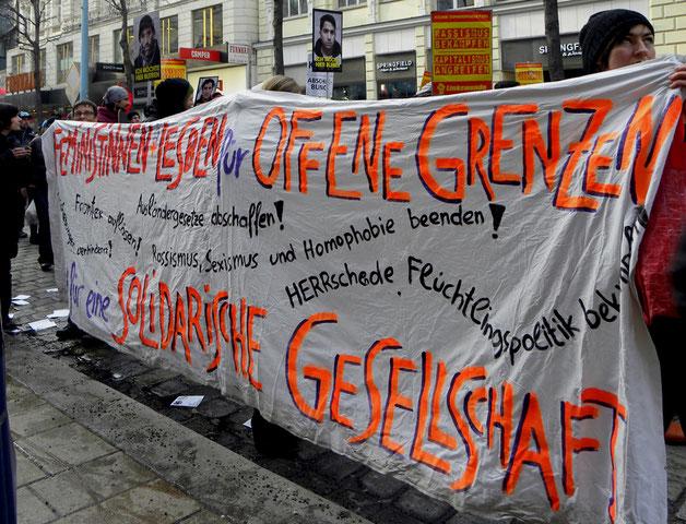 Feministisk demo i Wien
