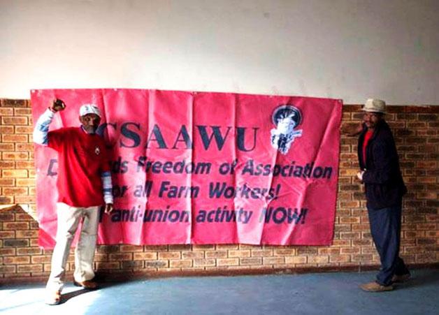 Sydafrikanske libertære, anarkosyndikalistiske arbejderaktivister