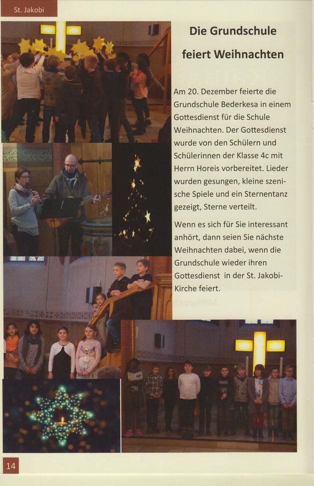 Kirchenbrief der ev.-luth. Kirchengemeinden St. Jakobi & St. Pauli