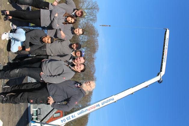 Das Team der Firma Platzhoff Bedachungen