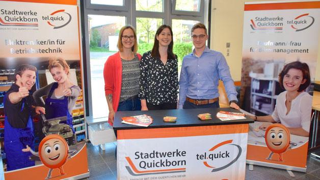 Die Stadtwerke Quickborn bieten Ausbildungsplätze in verschiedenen Berufen