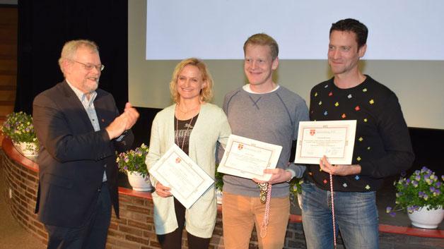 Mit der Leichtathletiksparte des TuS Holstein wurden Christian Biermann, René Croissier, Christoph Hoch, Uwe Kranz, Cordula Neudörffer und Jens Noritzsch