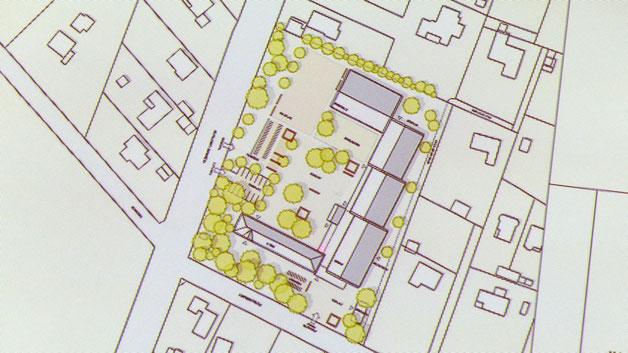 Diesen Plan präsentierte die Verwaltung in der Sitzung des Ausschusses für Stadtentwicklung und Umwelt