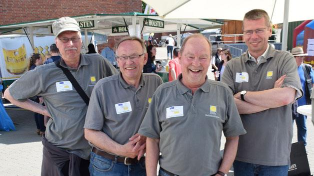 Die Mitglieder des Energieforums freuten sich über eine rege Beteiligung an der von ihnen organisierten Messe