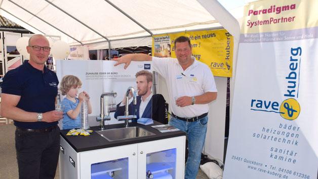 Eine spezielle Wasseraufbereitung präsentierte Rave&Kuhberg