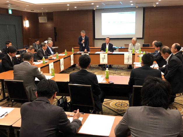 日本風景街道「自治体連絡会」の意見交換会