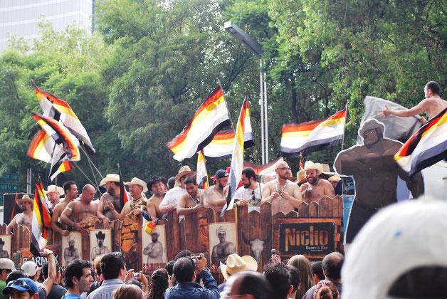 2009年メキシコシティのベア・カルチャー運動