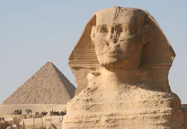 le sphinx de gizeh egypte