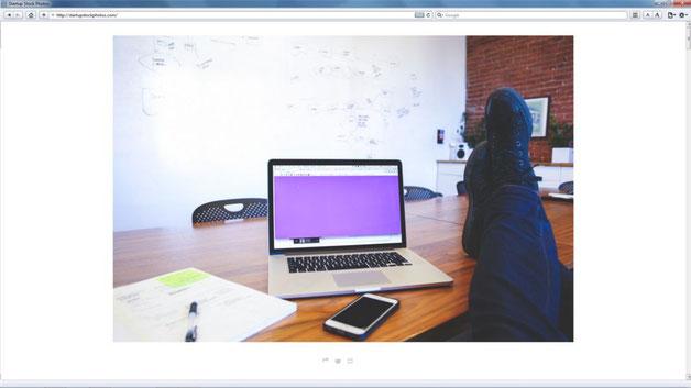 Captura de pantalla Startup Stock Photos
