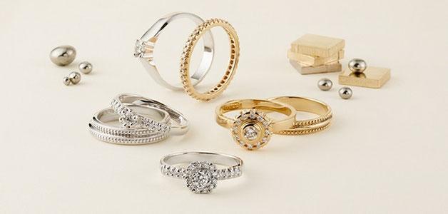 結婚指輪と婚約指輪って兼用しても大丈夫なの?
