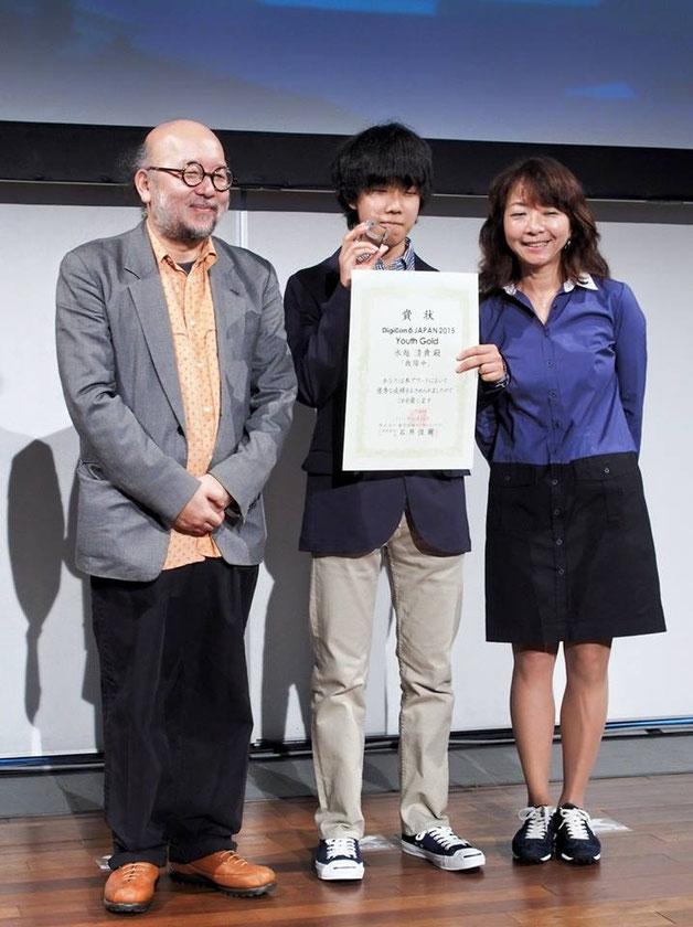 アジア最大級の映画祭Digicon6 Asiaのyouth部門にて最優秀賞を獲得