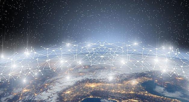 Swiss-made IoT Connectivity linking the world.  Image: mar/GerdAltmann-Pixabay