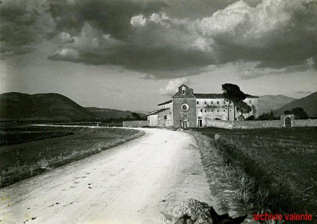 Venafro convento dei cappuccini di S. Nicandro ai primi del Novecento