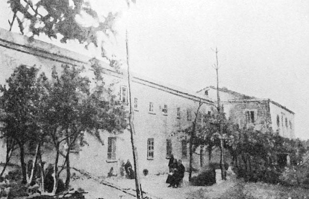 Convento di Montefusco a inizio Novecento