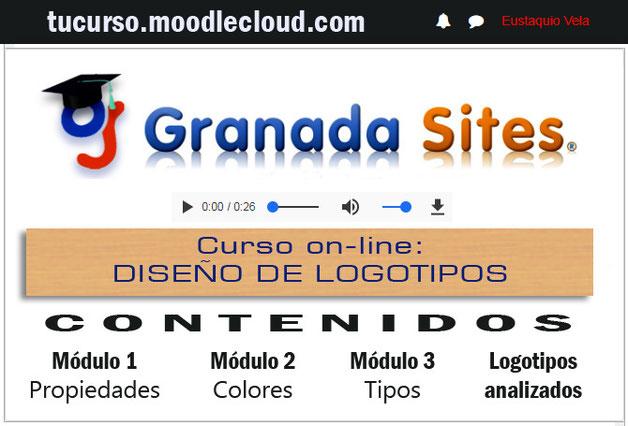 curso elearnign gratuito de diseño de logotipos por Granada Sites
