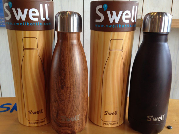 S'well(スウェル) Wood collection 260ml (Teakwood ¥4,320) (Burlwood ¥4,320)