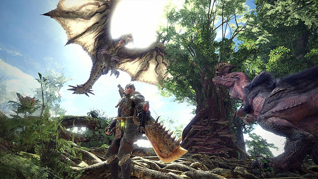 Beste PC Spiele: Monster Hunter - World