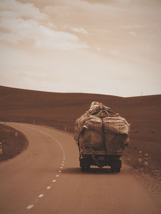 bigousteppes mongolie camion route