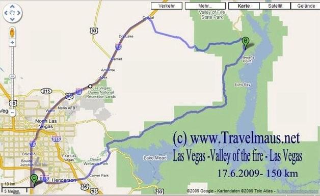17.6.2009 Las Vegas - Las Vegas 150 km