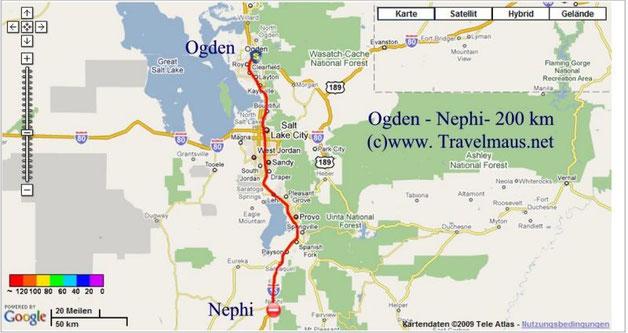 11.6.2009 Ogden - Nephi 200 km