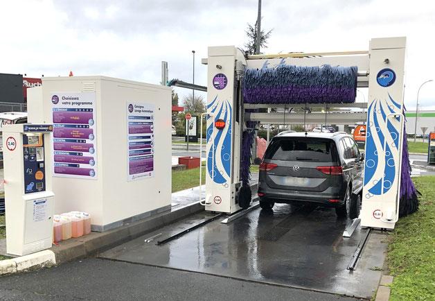 Station de lavage Éléphant Bleu - Le Poinçonnet