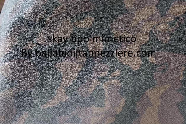 Skay tipo mimetico per selle-tuning- By ballabioiltappezziere.com