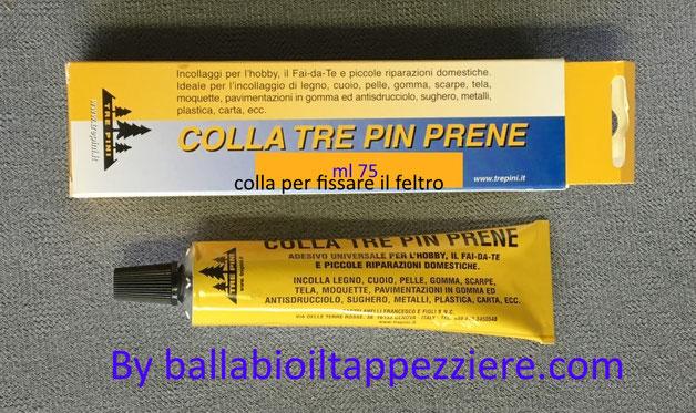 Colla-bostic per fissare feltro  By ballabioiltappezziere.com