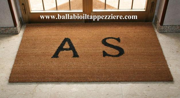 zerbino personalizzato con scritte