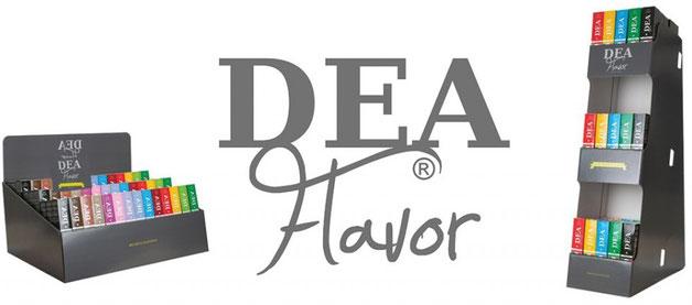 DEA Aromen und Liquids