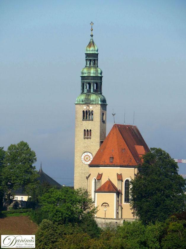 Salzburg Müllner Kirche auf dem Müllner Hügel