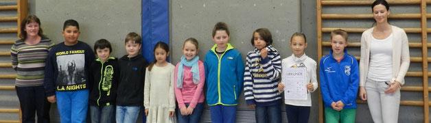KKS 4. Platz im Schwimmwettbewerb der Stadtgrundschulen kampfmapf
