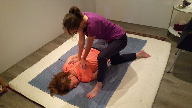Shiatsu massage therapie