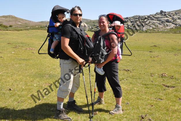 randonner en famille en Corse