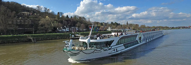 Flussschiff MS Grace (c) Plantours-Reisen  - buchen Sie hier Ihre Flusskreuzfahrt Rhein im Vertrags-Reisebüro Reiselotsen cruise & tours HH